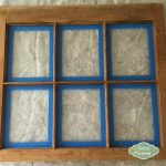 Painting Old Wooden Window Frames