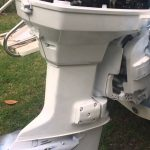 Painting Outboard Johnson Evinrude