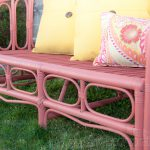 Painting Outdoor Furniture Chalk Mineral Paint Island Coral Adventure