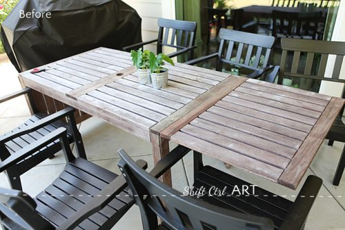 Painting Outdoor Furniture Got Barnwood