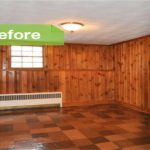 Painting Paneling Before After Photos Painted