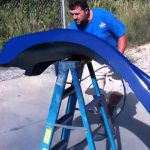 Painting Pool Water Slide