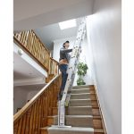 Painting Safely Paint Walls Ceiling High Staircase