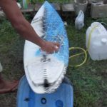 Painting Soap Surfboards