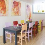 Painting Table Chairs