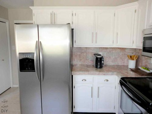 Painting Wood Cabinets White Without Sanding