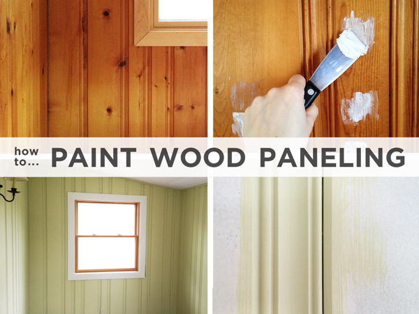 Painting Wood Paneling Brushes Rollers Beer Rather