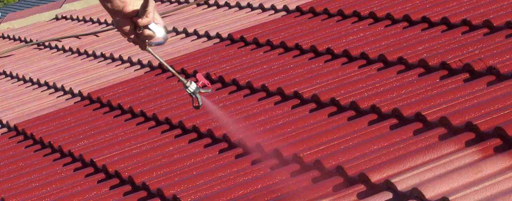 Painting Your San Diego Roofing Four Simple