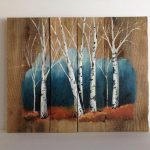 Pallet Painting Distressed Wood Art