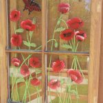 Panes Art Barn Quilts Hand Painted Windows Window Decorative