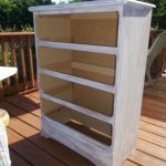 Particle Board Dresser