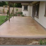 Patio Concrete Stain Ideas Patios Home Decorating