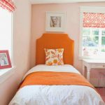Peach Color Paint Bedroom Property Room