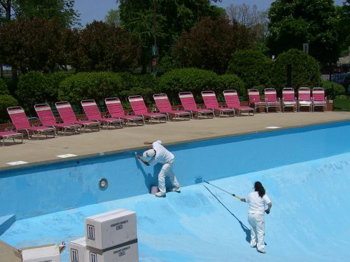 Pick Paint Your Pool Easy Steps