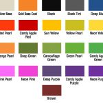 Pin Candy Paint Color Chart Search Results