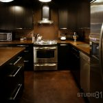 Playful Dark Kitchen Designs