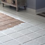 S Paint Chalk Painted Tile Floors