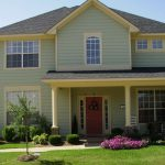 Popular Exterior Paint Color Schemes Ideas Within Colors Homes