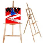 Portable Artist Wood Easel Art Painting Stand Drawingboard Display Canvas Holder