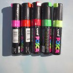 Posca Broad Tip Paint Window Markers All Colors