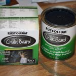 Potter His Clay Tile Frames Chalkboard Paint Paw Prints