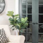 Power Paint Dark Painted Interior French Doors Little House Four