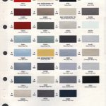 Ppg Paint Color Chart