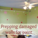 Prep Damaged Walls Paint Cleverly