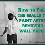 Prepping Wall Painting After