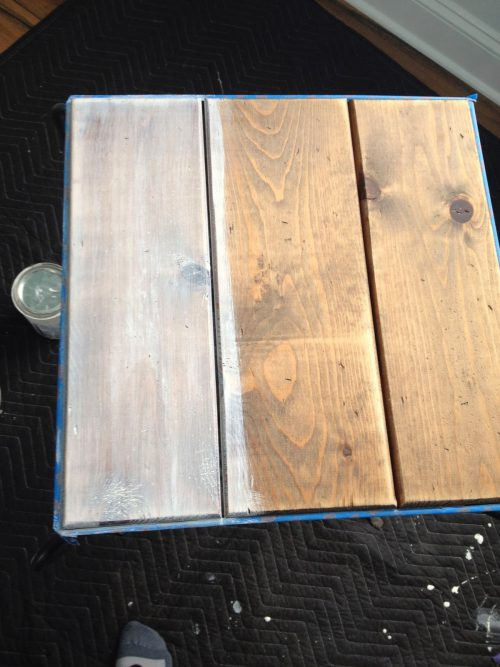Pretty Distressed Creating Weathered Wood Finish Annie Sloan Chalk
