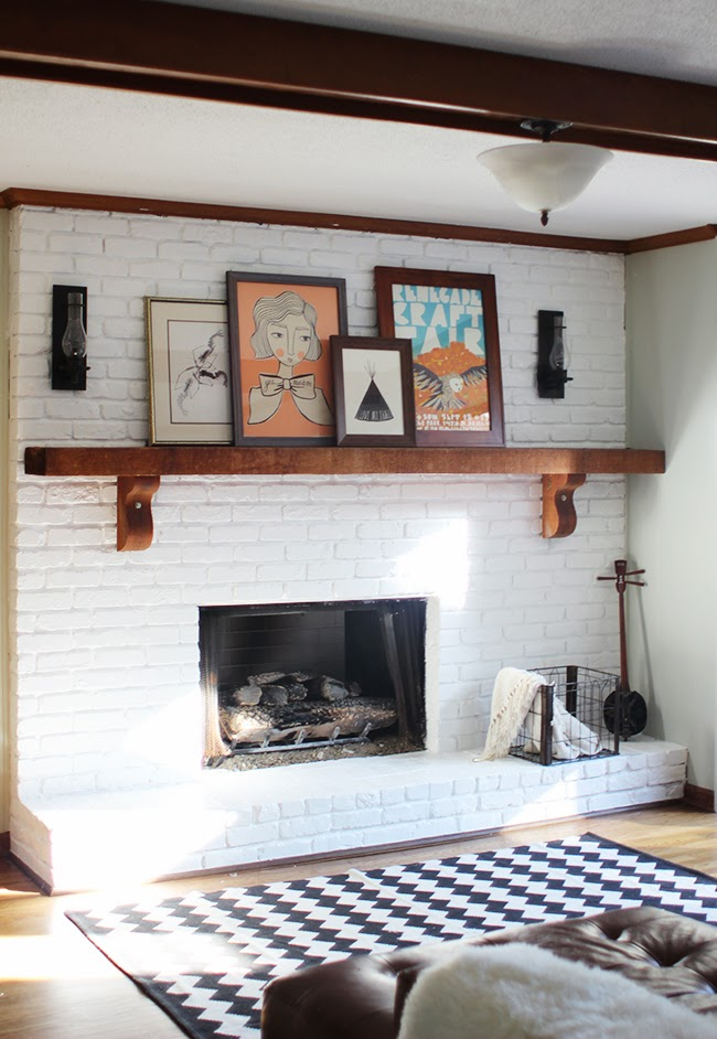 Project Home Fireplace
