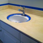 Project Reveal Painted Bathroom Countertop Holtwood