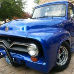 Purchase Used Ford Pickup Truck Metallic Blue Paint Job Headturner Arlington