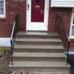 Quick Concrete Stair Makeover Stairs Minor Wear Tear