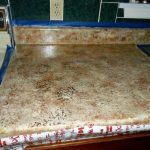 Quiltanddagger Faux Granite Painting Formica