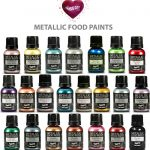 Rainbow Dust Edible Food Paint Metallic Pearlescent Pick Any