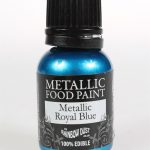 Rainbow Dust Edible Metallic Food Paints Royal Blue Cakers