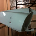 Rattle Can Spray Paint Fiberglass Race Fairings