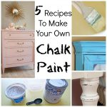 Recipes Make Your Own Chalk Paint Craft Gossip