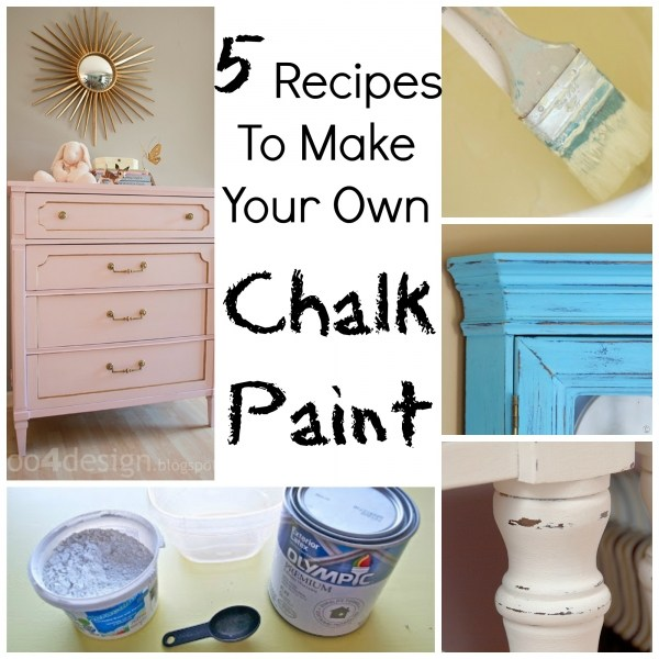 Recipes Make Your Own Chalk Paint Craft