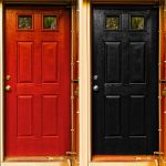 Red Door Want Painted Black Timothy Valentine