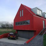 Red Exterior Homes Paint