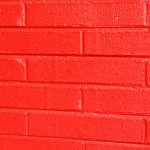 Red Painted Brick Wall Photograph Photos Public
