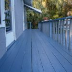 Refinish Paint Old Wooden Porch Deck