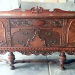 Refinished Antique Buffet Room Pics Sweet Pickins