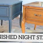 Refinished Nightstands Annie Sloan Chalk Paint