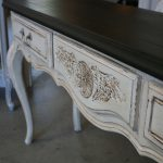 Reloved Rubbish Graphite Pure White Console