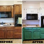 Remodelaholic Diy Refinished Painted Cabinet