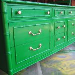 Remodelaholic Fear Color Bamboo Styled Dresser