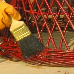 Remove Paint Metal Wicker Tos